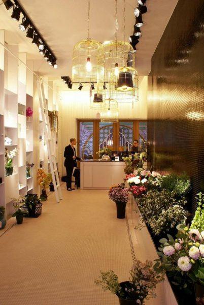 Çiçekçi Dükkanı Dekorasyonu