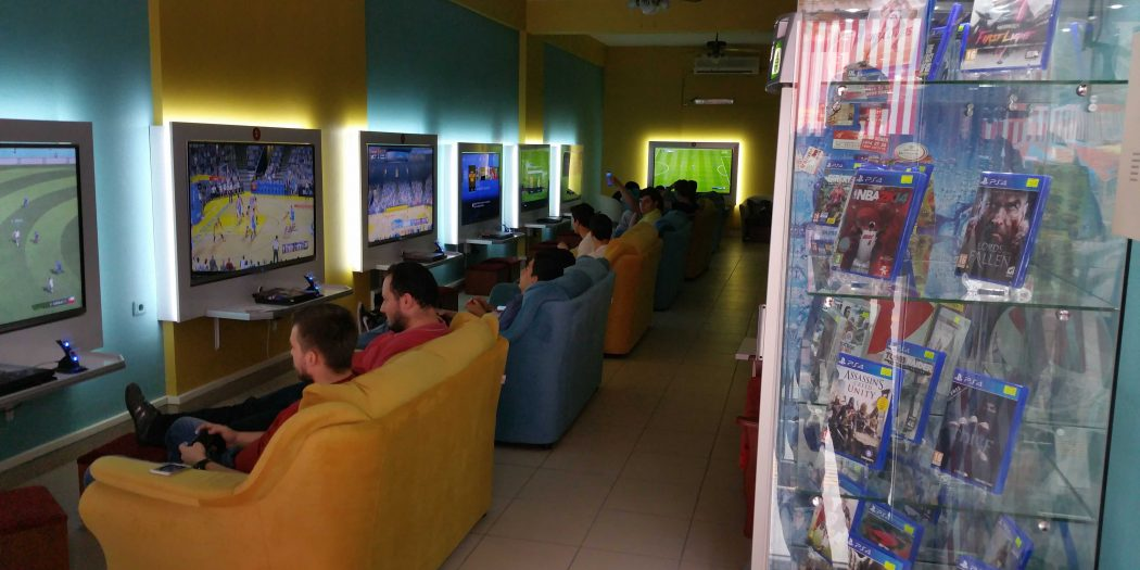 Playstation Cafe