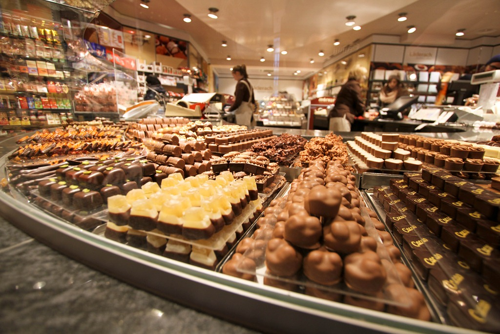 Çikolata Dükkanı Dekorasyonu
