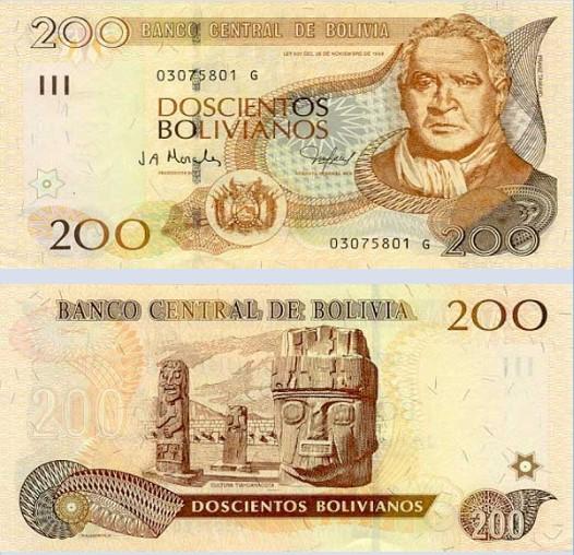 bolivya boliviano