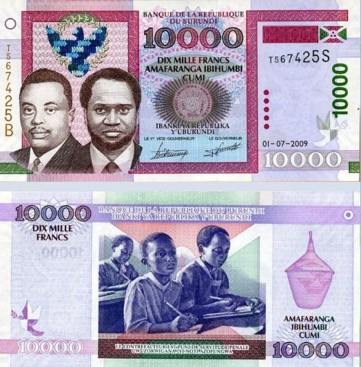burundi frank