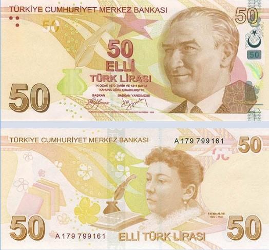 türkiye lira