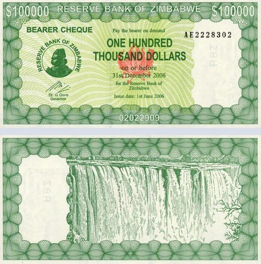 zimbabwe dolar